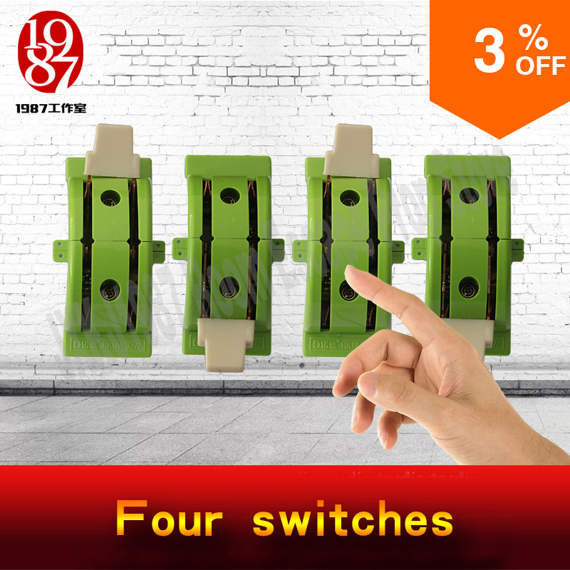Takagism game prop real life room escape props four switches adjust the swithes in the right gear to unlock from JXKJ1987 цена