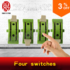 Takagism Game Prop Real Life Room Escape Props Jxkj 1987 Four Switches Adjust The Swithes In