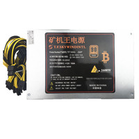 T F SKYWINDINTL 1600W Mining Power Supply PSU Ant S7 A6 A7 S7 S9 L3 S7