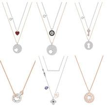 aa06cf159ec6 ROBOL alta calidad Swa Original colgantes collares joyería para las mujeres  al por mayor marca 1 1 producción regalos para las m.