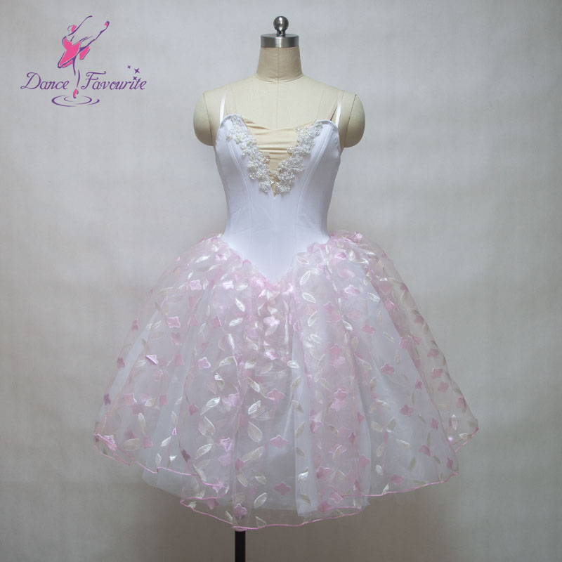 women Romantic ballet tutu, adult stage performance costume Long tutu dress ballerina dance 151201A - Dance Solution store