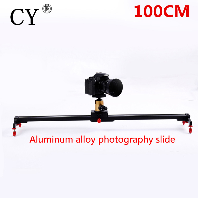 Pro 100cm Camera Track Dolly Slider Rail System Stabilizing Movie Film Video for DSLR DV Cameras Camcorder Photography