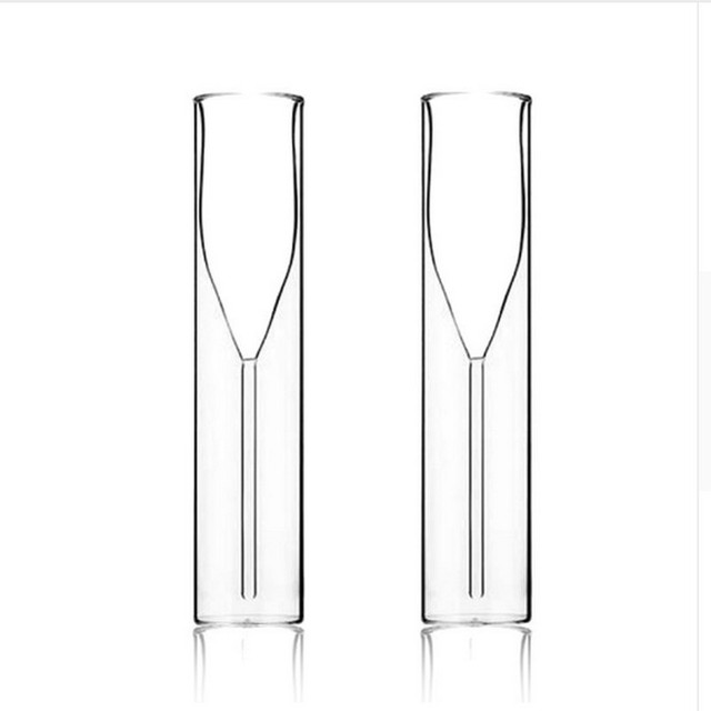 Creative Double Wall Champagne Glass