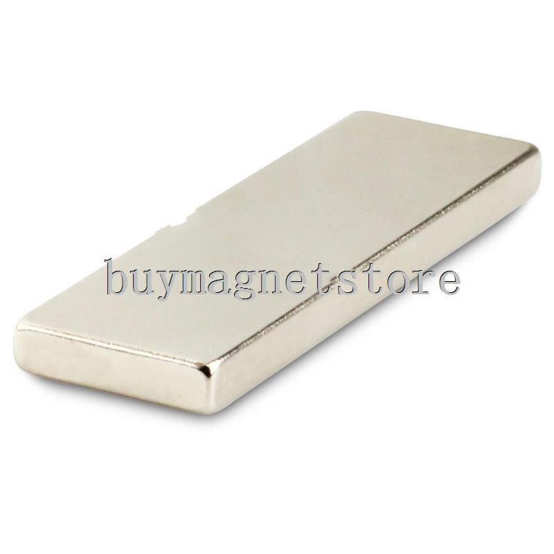 1pc N35 Super Strong Block Cuboid Neodymium Magnets 60 x 20 x 5 mm Rare Earth ndfeb Neodymium neodimio imanes