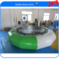 Free Shipping, Good Quality 0.9mm PVC  Dia 3m Inflatable Water Bouncer ,Water Trampoline