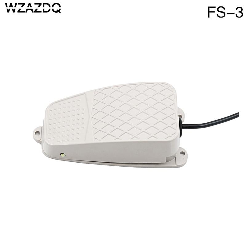 Wzazdq Foot Switch Fs 3 Foot Switch Iron Self Reset Power