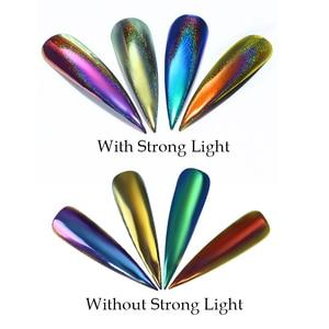 Image 5 - Poudre de paillettes dongle miroir de poussière dongle effet caméléon Chrome Pigment poudre dongle décorations dart dongle