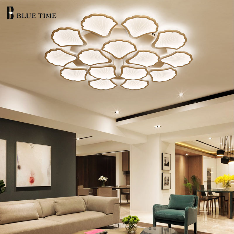 Acrylic Modern Led Ceiling Light For Living room Dining room Bedroom Lustre Led Ceiling Lamp Lighting Fixtures Lamparas de techo ceiling lighting minimalist modern balcony study bedroom lighting led intelligent atmospheric living room dining room