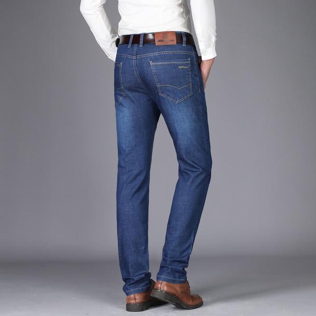 Men's Straight Cut Stretch Trousers 4