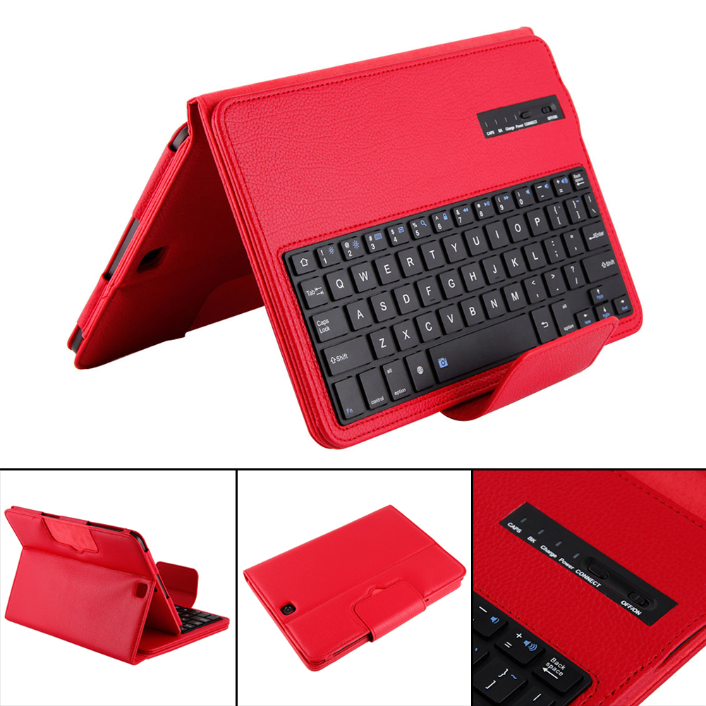 100% Brand New Bluetooth Detachable Keyboard Leather Case Cover Stand for Samsung Galaxy Tab S2 T810/Tab cuckoodo ultra slim detachable bluetooth keyboard portfolio leather case cover for samsung tab s2 9 7 inch sm t810 tablet