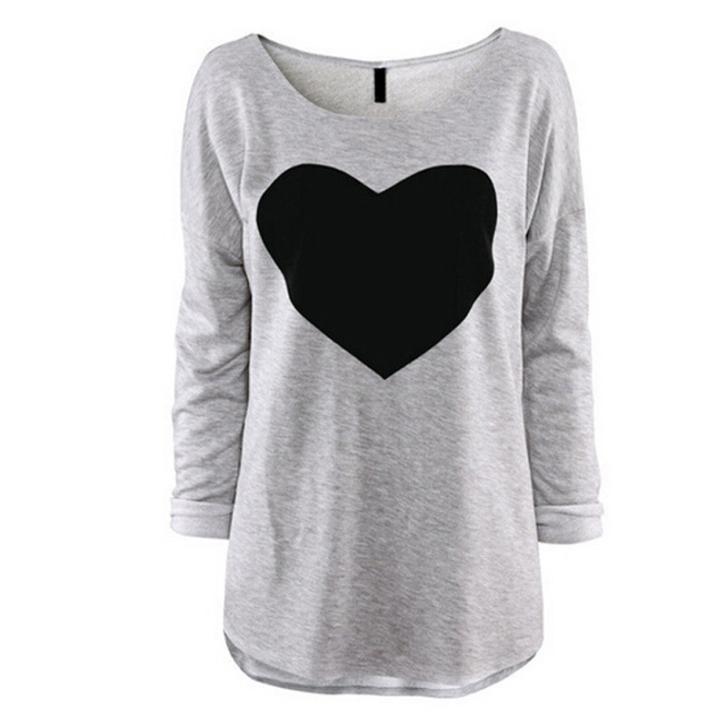2016 Fashion Summer Women Long Sleeve T Shirt Tops And ...