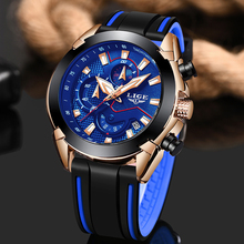 Relogio Masculino 2019 LIGE Top Brand Men's Fashion Casual Sport Watches Men Silicone Waterproof Quartz Watch Man Military Clock цена и фото