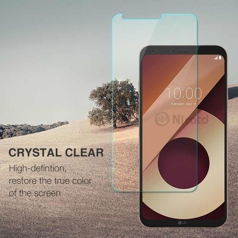 La dureza de Protector de pantalla de cristal para LG V20 G6 Q6 a prueba de explosión de vidrio templado Protector para LG K10 K8 G5 G4 d337 9 H protección 2.5D película