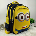 16 inch New Fashion Despicable Me 2 Kids Cartoon school bags child Backpack Minions schoolbag 6-12Y Kids cute bags