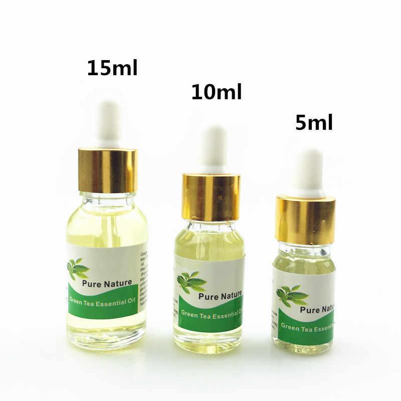 緑茶エッセンシャルオイル抗セルライトボディラップ痩身茶減量 5/10/15 ミリリットル