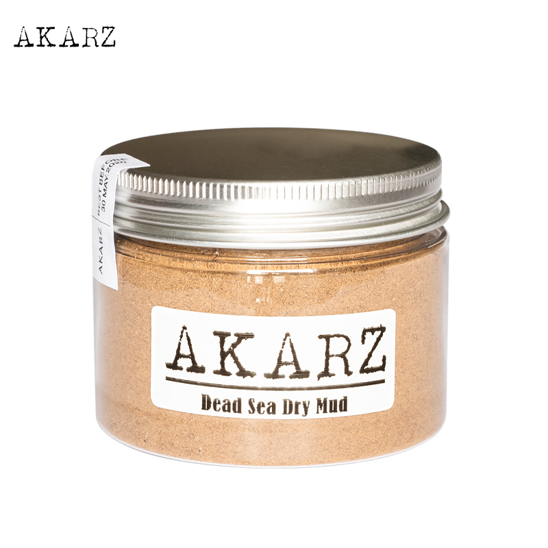 AKARZ Scrubs&bodys Treatments Dead Sea Dry Mud Mask Origin Jordan Treat Oily Skin Reduce Wrinkles And Delay Skin Aging