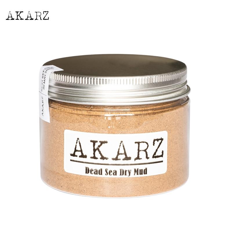 AKARZ Scrubs&bodys Treatments Dead Sea Dry Mud Mask Origin Jordan Treat Oily Skin Reduce Wrinkles And Delay Skin Aging