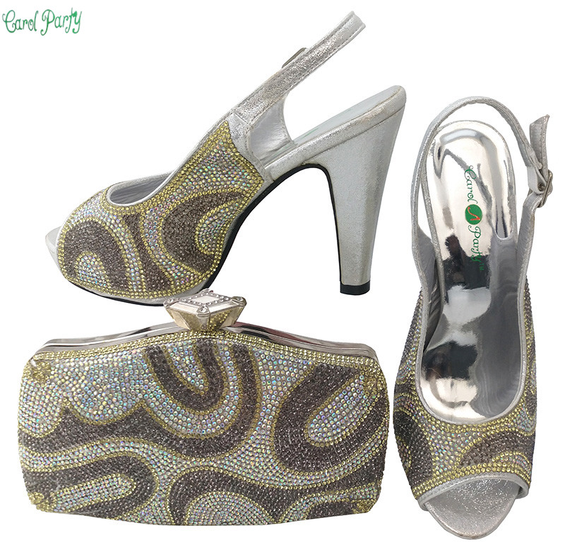 Arrival Italian Design Shoes With Matching Bag Set For Wedding Party Fashion Women Pumps African Women Shoes and Bags  BCH-28 new arrival design italian shoes with matching bags set nice quality african shoes and bag sets with rhinestones hlu1 17