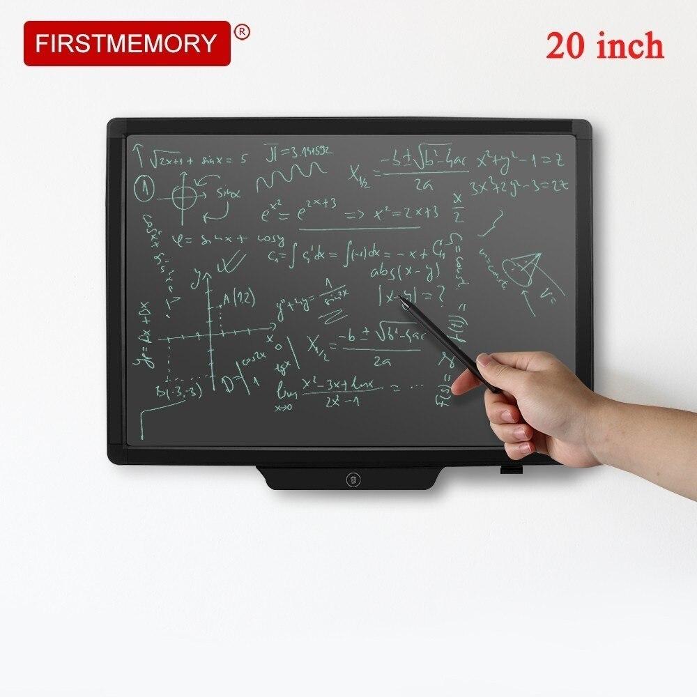 20 pouces LCD tablette d'écriture Portable électronique tablette numérique bloc-notes tableau noir bloc-notes sans papier avec stylet