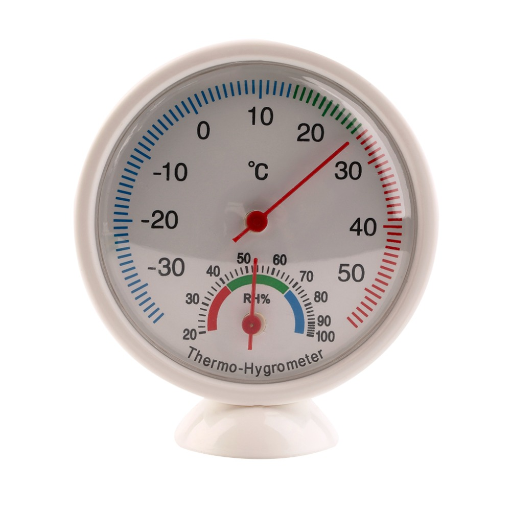 Indoor Outdoor Thermometer Hygrometer Temperature Meter termometro digital infravermelho thermal imager weather station in Temperature Instruments from Tools