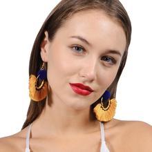 Earrings Fashion Bohemian Solid Tassel Girls Gifts Drop Dangle Tassel Earrings For Women Jewelry Boho Style цена 2017