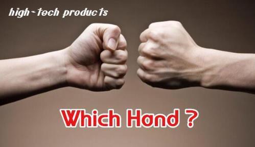 Высокотехнологичный фокусы какой рукой? (Трюк + Интернет-дать) маг Guess рука монета магический реквизит, закрыть, иллюзии, пророчество