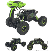 RC Car 4x4 Driving Rock Crawlers Off-Road Car Double Motors Drive Car 2.4G 4CH 4WD Competitive Remote Control Car Model Toys