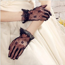 Sexy Lacework Mesh Gloves