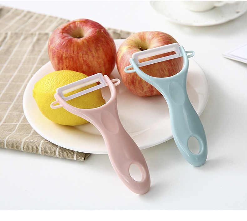 1pc vegetal frutas descascador slicer cutelaria descascador cutelaria descascador ferramentas de cozinha acessórios gadgets