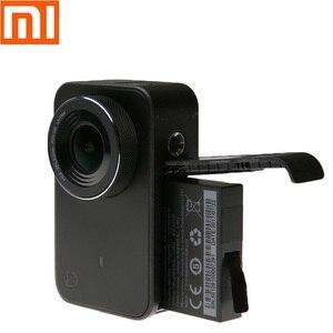 Image 2 - بطارية أصلية 1450mAh 3.8V قابلة للشحن لهاتف شاومي Mijia 4K ملحقات كاميرا الحركة الصغيرة بطاريات شحن علبة شحن