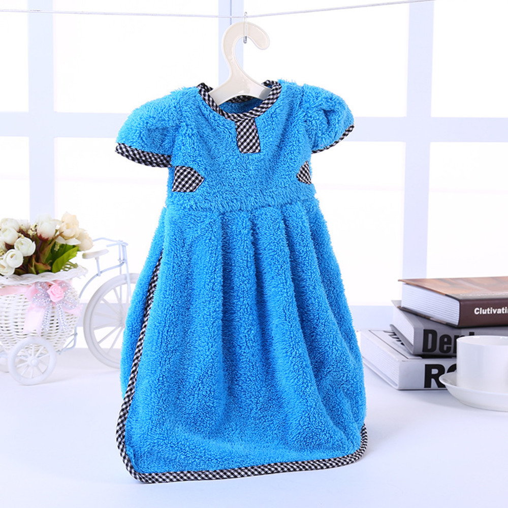New cleaning Wipe Towel cloth Camisole Uptake Naizang Clothes Exceed Water Small Coat Pattern Hanger Hanging