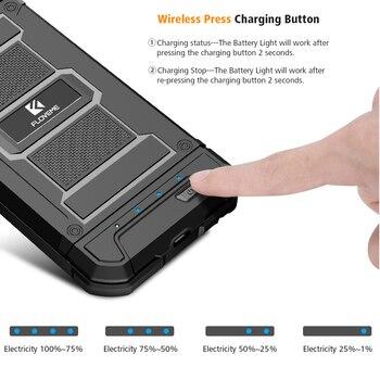 FLOVEME סוללה מטען מקרה עבור IPhone 6 6 S בתוספת 7 8 בתוספת כוח בנק שריון חיצוני סוללה סוללה מקרה עבור IPhone 6 6 S 7 8