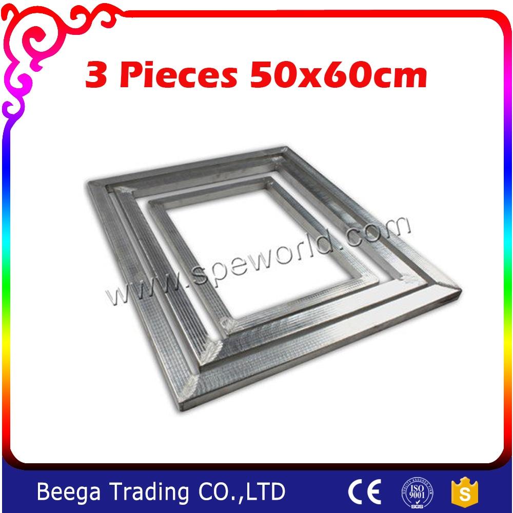 ᑐTres piezas de aleación de aluminio pantalla Marcos para ...