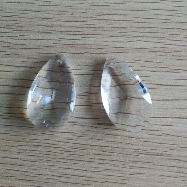 K9 crystal 100pcs 50mm tear shape glass prism pendant crystal k9 crystal 100pcs 50mm tear shape glass prism pendant crystal hanging prism lighting suncatchers for strand aloadofball Images