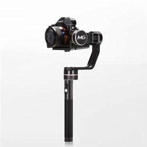 Feiyu Tech mg <font><b>V2</b></font> ручной карданный 3 оси Бесщеточный 360 градусов для Sony NEX-5N/NEX-7/A7RII/ ILCE-7R/ILCE-5100/Panasonic Lumix GH4