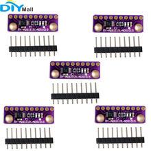 5 stks/partij GY ADS1115 16 Bit I2C 4 Kanaals ADC Module met Programmeerbare Gain Versterker voor Arduino Raspberry Pi