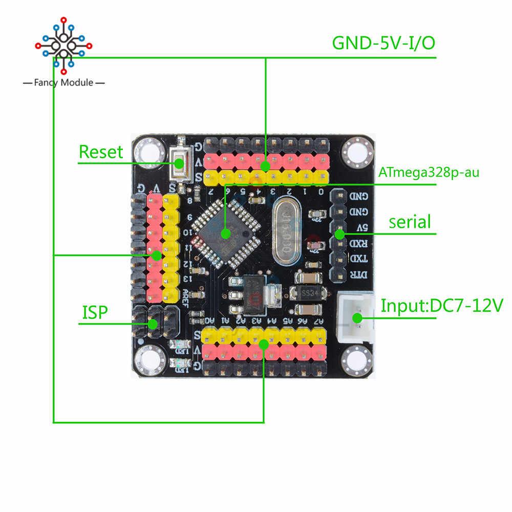1 مجموعة ATMEGA328 وحدة تحكم صغيرة برو البسيطة لوحة تركيبية 5 فولت لاردوينو فريد 14Pin 16 ميجا هرتز 328 ATMEGA328P متحكم