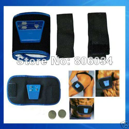 YM 1set AB Gymnic Electronic Muscle Arm leg Waist Massage Belt, Free Shipping , Dropshipping