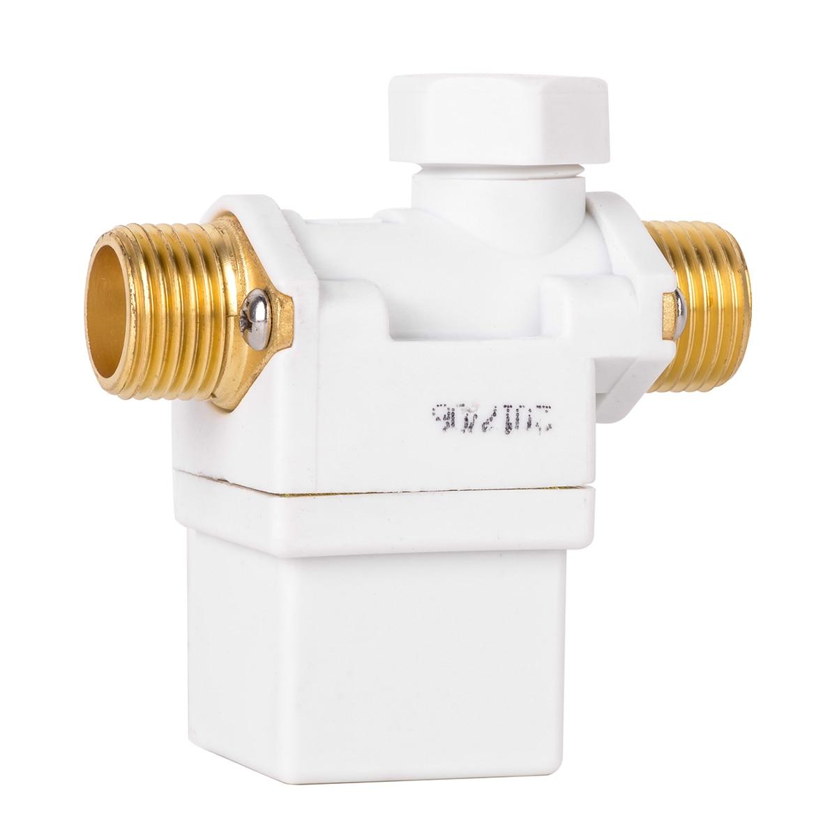 1 stück Neue Praktische Elektrische Magnetventil AC 220 V Wasser Luft N/C Normalerweise Geschlossen 0-0.8Mpa Membranventile für 1/2