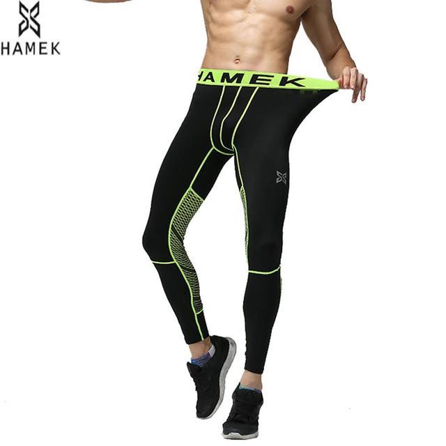 2017 nuevos hombres de compresión Pantalones de correr entrenamiento  Camisetas de lycra de hombre Deporte piel 862adb7fda3b3