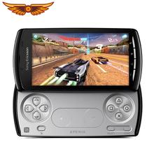 Odblokowany oryginalny Sony Ericsson Xperia grać Z1i R800i R800 gry Smartphone 3G 5MP Wifii A-GPS Android OS telefon tanie tanio Odpinany 512M Odnowiony Rozpoznawania linii papilarnych Do 120 godzin 1500 mAh Nonsupport Smartfony Pojemnościowy ekran
