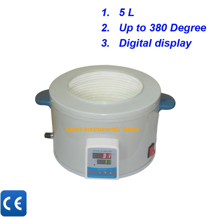 Free shipping, 5L heating mantle for flask
