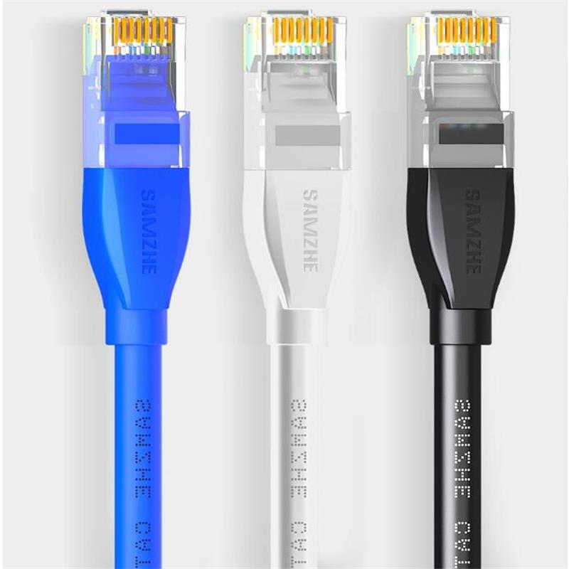 Cat6 Ethernet Patch Cable - RJ45 Computer,PS2,PS3,XBox Networking LAN Cords 0.5/1/1.5/2/3/5/8/10/12/15/20/25/30/40/50/80m