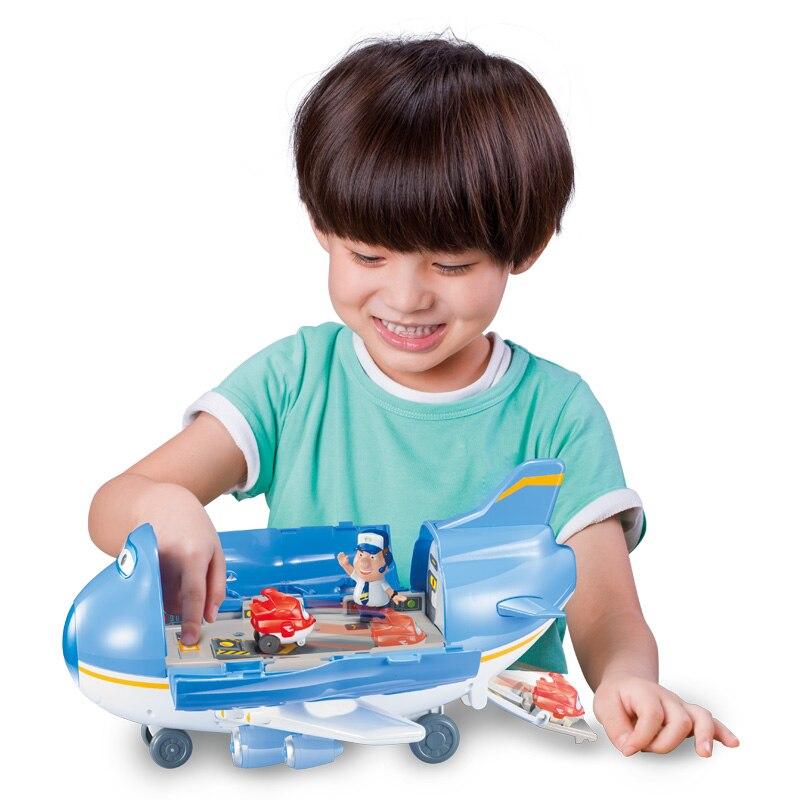 Oyuncaklar ve Hobi Ürünleri'ten Aksiyon ve Oyuncak Figürleri'de 2018 Yüksek Kaliteli Süper Kanatları Uçak Sahne Merkezi Uçaklar ile Aksiyon Figürleri Dönüşüm Oyuncaklar Için çocuk Aniversario Hediye'da  Grup 1