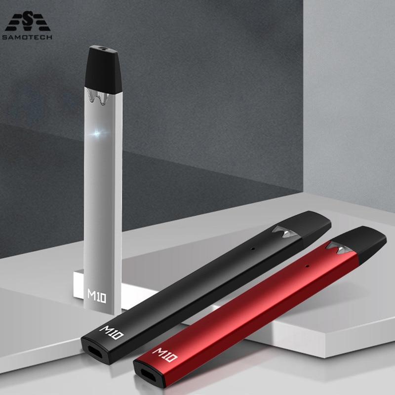 NEW M10 Vape Kit 240mAh Build-in Battery 1.5ML Cartridge Pod System Liquid E-Cigarette Kit VS Cobra Covered Vape