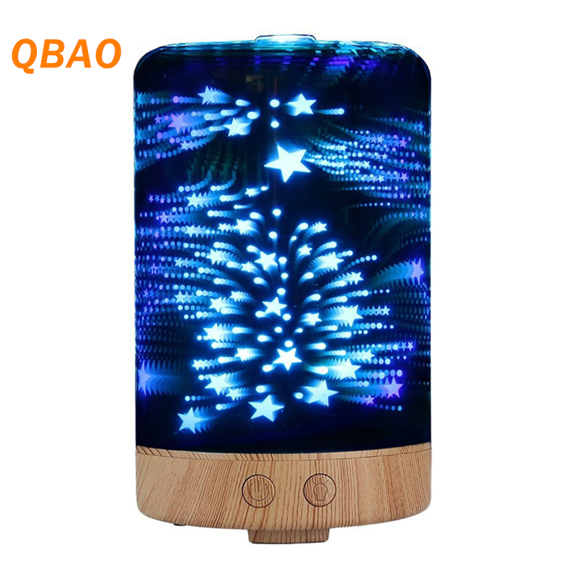 Aroma Diffuser 3D 24V Air Humidifier Ultrasonic Mist Maker Aromatherapy Essential Oil Diffuse for Office цена