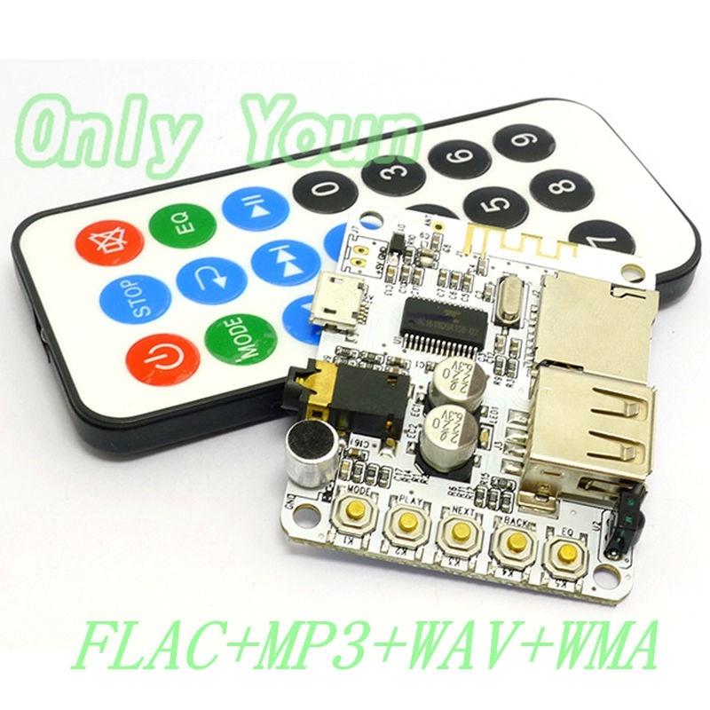 Aipinchun 5 V Bluetooth Bluetooth-stereo-audio-empfänger-modul Flac Wav Mp3 Wma Decoder Board Drahtlose Freisprecheinrichtung Kopfhörer Lautsprecher Tf Fm Reine WeißE Tragbares Audio & Video