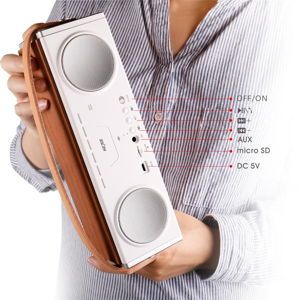 2017 Nuevo 10W * 2 Altavoz Bluetooth Inalámbrico Portátil Subwoofer - Audio y video portátil - foto 5