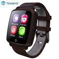 Leather Strap Bluetooth 4.0 SmartWatch U11C MTK2502C Smart Watch Phone Support SIM Card,Video Play for iPhone and Android Phones