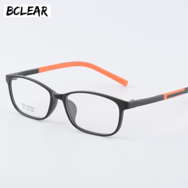 9f6171fde8df BCLEAR TR90 Unisex Optical Eyeglasses Ultem Flexible Super Light-Weighted Prescription  Optical Eye Glasses Frame